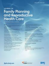 Journal of Family Planning and Reproductive Health Care: 42 (1)
