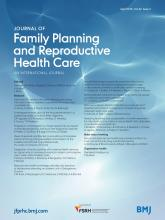Journal of Family Planning and Reproductive Health Care: 42 (2)
