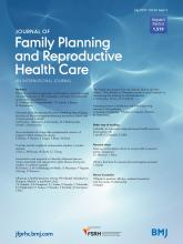 Journal of Family Planning and Reproductive Health Care: 43 (3)