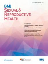 BMJ Sexual & Reproductive Health: 44 (1)