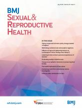 BMJ Sexual & Reproductive Health: 44 (3)