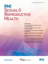 BMJ Sexual & Reproductive Health: 44 (4)