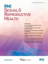 BMJ Sexual & Reproductive Health: 44 (4)