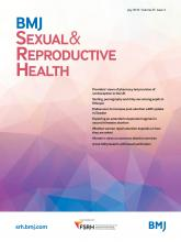 BMJ Sexual & Reproductive Health: 45 (3)