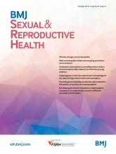 BMJ Sexual & Reproductive Health: 45 (4)