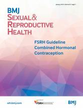 BMJ Sexual & Reproductive Health: 45 (Suppl 1)