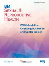 BMJ Sexual & Reproductive Health: 45 (Suppl 2)