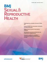 BMJ Sexual & Reproductive Health: 46 (4)