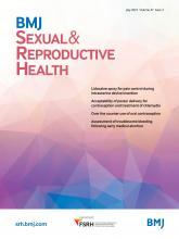 BMJ Sexual & Reproductive Health: 47 (3)