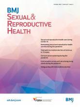 BMJ Sexual & Reproductive Health: 47 (4)